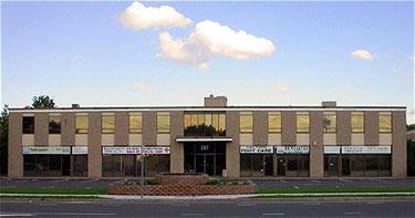 The office of Stony Brook Family Dentistry 207 Hallock Road Stony Brook, NY 11790